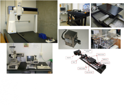 Metrology and motion control instruments (UBC MAL)